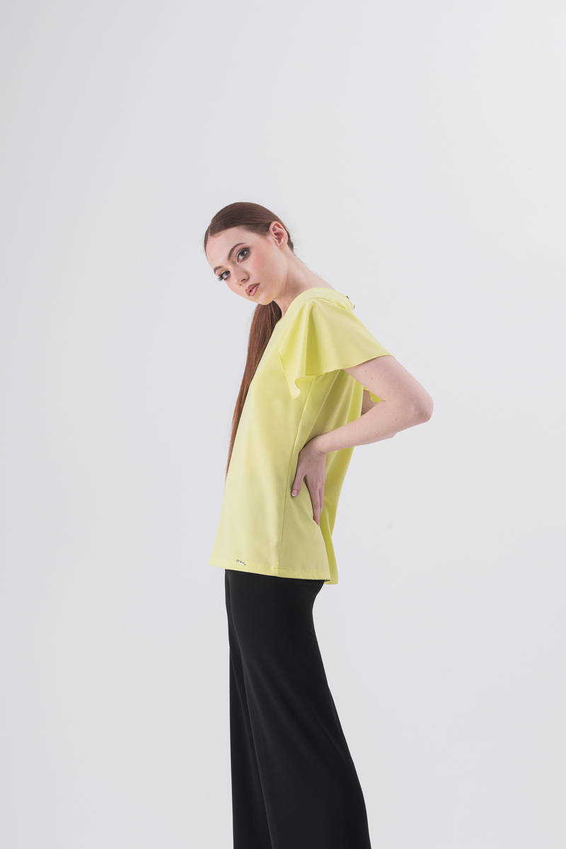 Blusa in crepe